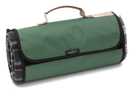 Greenfield Collection Picnic Blanket, Forest Green