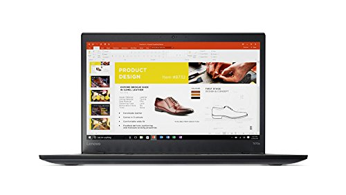 "Lenovo ThinkPad T470s Laptop with Intel Core i7-6600U, 8GB DDR4 RAM, 256GB SSD, Windows 7 Pro - 14"" FHD IPS Display - Black - 20JS0004US"