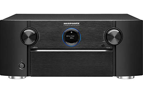 Marantz AV Receiver SR7013 - 9.2 Channel with eARC | Auro 3D, IMAX Enhanced, Dolby Surround Sound –125W 3 Zone Power | Alexa + HEOS Compatibility