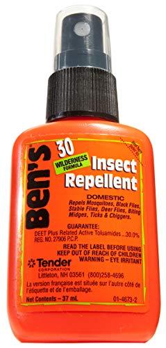 (4 pack) Ben's 30% DEET Mosquito, Tick and Insect Repellent, 37ml Pump