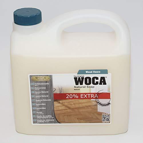 WOCA 511030A Holzbodenseife Natur 3 Liter