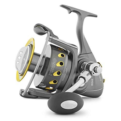 Ryobi Tubertini Mulinello da Pesca Turbo Two Speed Reel 20000 Potente per Grandi Predatori a Spinning per Pesca Bolentino dalla Barca Idelale Anche per Siluri e Carpfishing