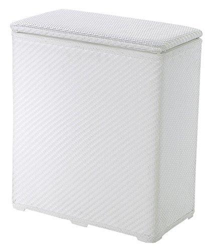 Kleine Wolke 5067100860 Wäschebox Wäscheboy, 48 x 27 x 55 cm, weiß