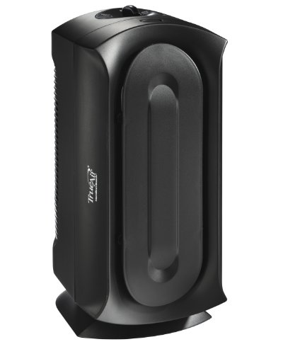 Hamilton Beach TrueAir Air Purifier with Permanent HEPA Filter for Home or Office and for Allergies and Pets, Whisper Quiet, 160 sq ft, Black