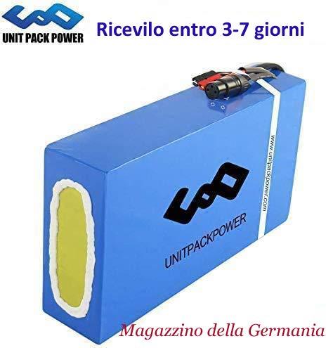uppcycle Batteria Bici elettrica 36V - Batterie agli ioni di Litio Ebike per Scooter E/Bicicletta...