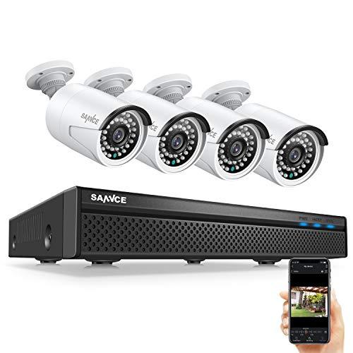 Cámaras de vigilancia de 4 canales