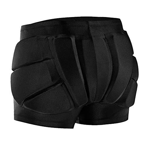 Ksodgun Shorts Imbottiti protettivi per Bambini per Fianchi Posteriori Tailbone Snowboard...