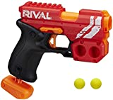 NERF Rival Knockout XX-100 Blaster -- Round Storage, 90 FPS Velocity, Breech Load -- Includes 2 Official Rival Rounds -- Team Red