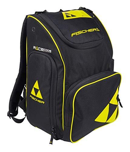 Fischer Unisex– Erwachsene Backpack Race 55 L, schwarz/gelb, 57x37x31 cm