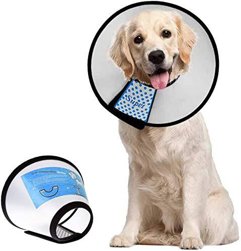 Supet Conos de Recuperación para Mascotas, Collarines para Curar...