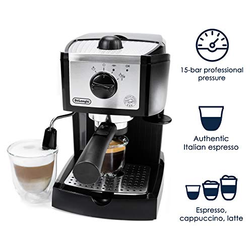 مميزات ومواصفات ماكينة قهوة ديلونجي ec155 واسعارها وعيوبها