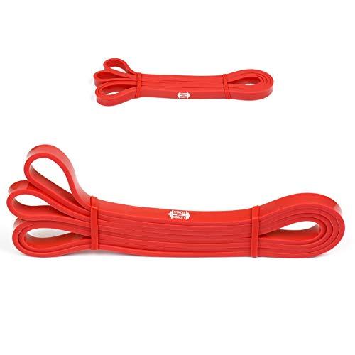 Rosso 5.5-13kg 1.3 cm RESISTENZA BAND Pull Up Bande Esercizio Loop Band Corpo Resistenza Di Addestramento UNIT SINGOLA Trazioni alla Sbarra Assistite Fasce Elastiche per l'Allenamento CrossFit