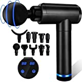 Massage Gun, Muscle Therapy Gun, Hand Held Body Deep Muscle Massager with 30 Adjustable Speeds, 10...