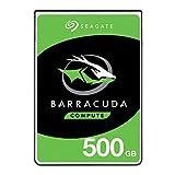 Seagate BarraCuda 500Go, Disque dur interne HDD – 2,5' SATA 6Gbit/s...