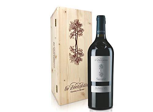 Lo Zoccolaio - Vino Rosso - Barbera d'Alba DOC Sucule 0,75 ml + Cassa Legno