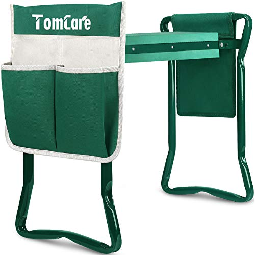 TomCare Garden Kneeler Seat Garden Bench Garden Stools Foldable Stool...