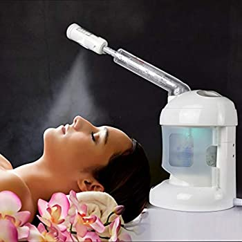 Effectively Deep Moisturizing: Compared to normal steam, kingsteam take the advanced PTC ceramic heating element to vaporize clean water and produce abundant and consistent hot mists in seconds, which can more easily penetrate the skin barrier, Moist...