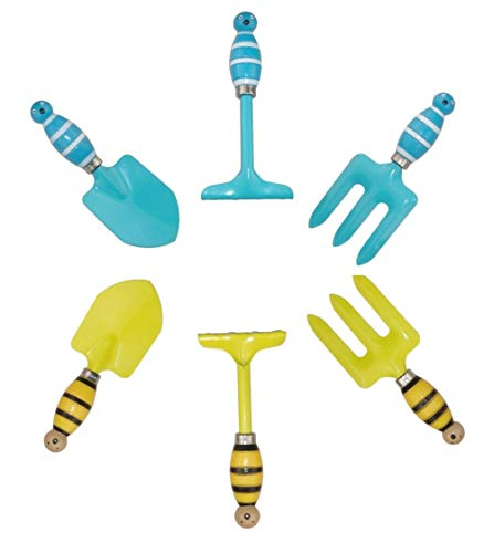 MTB-Supply-Kids-Gardening-Tool-Sets-Frog-Handle-Pack-of-2-Sets-Mini-and-Small-Garden-Tool-Kit-for-Children-Beach-Sand-Play-Tool-and-Toy-Sandbox-and-Soil-Hand-Tool-Birthday-Gifts-Party-Favors