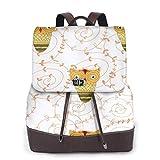 Yuanmeiju Womens Backpack Purse Birds Owls in Cartoon Shoulder Daypack Leather Casual Bag Girls