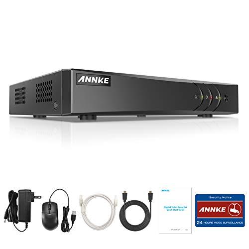 ANNKE TVI 5MP 5-en-1 Grabador de video digital de red de 8 canales Videovigilancia H.265 Pro + DVR Grabador CCTV DVR / HVR / NVR Sistema P2P Seguridad Correo electrónico Alarma 3 Instantánea