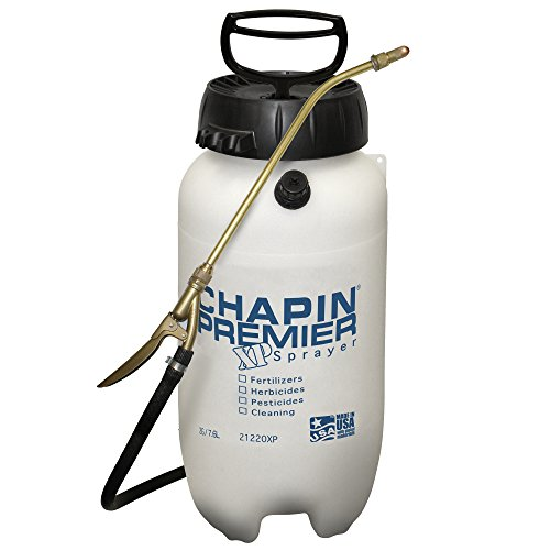 Chapin International EMW0073280 Chapin 21220XP 2-Gallon Premire Pro XP Poly Sprayer for Fertilizer, White