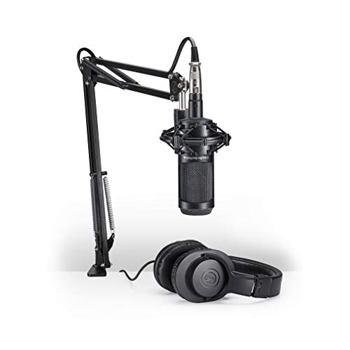 Audio-Technica AT2035PK Vocal Microphone Pack for Streaming/Podcasting, Includes...