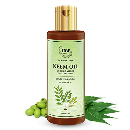 TNW-THE NATURAL WASH Multipurpose Pure Neem Oil for Hair & Skin - Remove pimples, acne and cure any fungal infection from skin - Best mosquito & Bugs Repellent Spray On Plants & Garden 100 ml