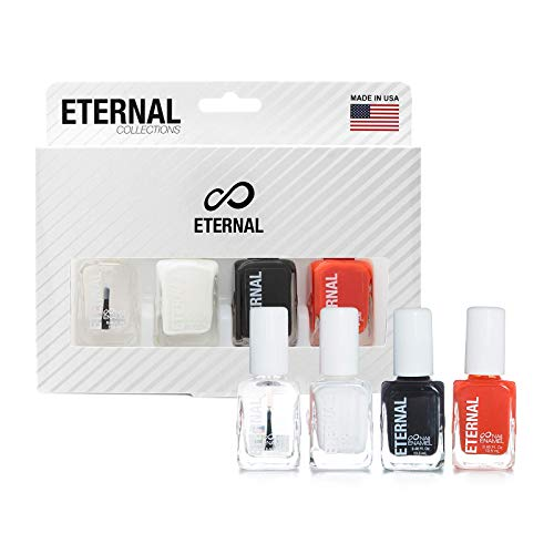 Eternal Glorious Collection – 4 Pieces Set: Long Lasting, Quick Dry Nail Polish (Halloween)