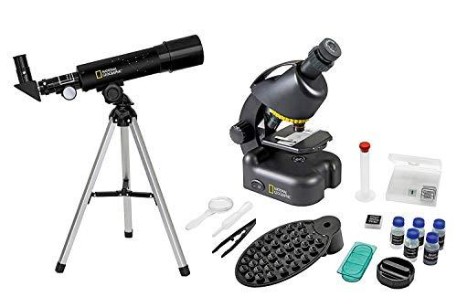 National Geographic Set (Telescope/Microscopio),...