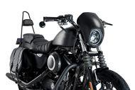 Customacces CUP001N Anarchy Semicarenado para Harley Davidson Sportster 883/1200, Negro