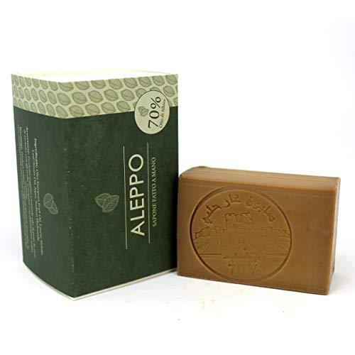 Jabón de Alepo - Aceite de Oliva y Aceite de Laurel 70% - M