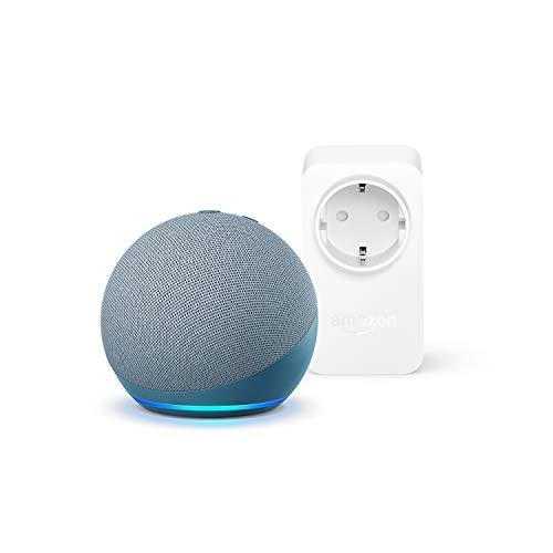Nuevo Echo Dot (4.ª generación), Azul grisáceo + Amazon Smart...