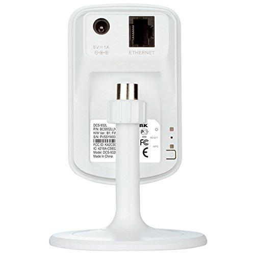 Product Image 1: D-Link DCS-932L Videocamera di Sorveglianza Wireless N, Visore Notturno, Rilevatore di Movimenti e Suoni, Notifiche Push per iPhone/iPad/Smartphone