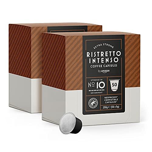 by Amazon Cápsulas Ristretto Intenso, compatibles con Nespr
