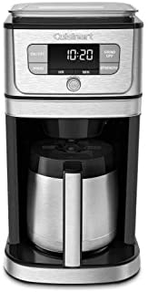 Cuisinart DGB-850 Fully Burr Thermal Grind & Brew Automatic Coffeemaker, 10 Cup, Silver