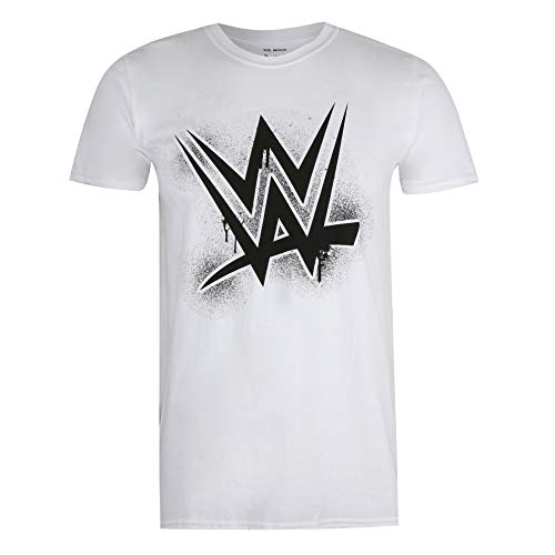 WWE Paint T-Shirt, Bianca, Large Uomo
