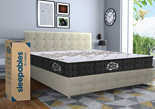 Centuary Mattresses Sleepables 6 Inch Multi Layered Pocket Spring Mattress (72 x 48 x 6 Inch, Double)