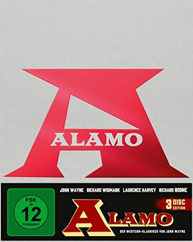Alamo (Mediabook A, 2 Blu-rays+DVD)(exklusiv bei Amazon.de) [Limited Collector's Edition]