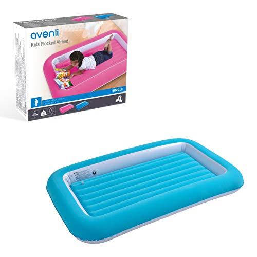Avenli Lit Gonflable pour Enfant OS Bleu