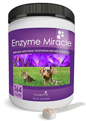 NUSENTIA Enzymes for Dogs & Cats - Enzyme Miracle...