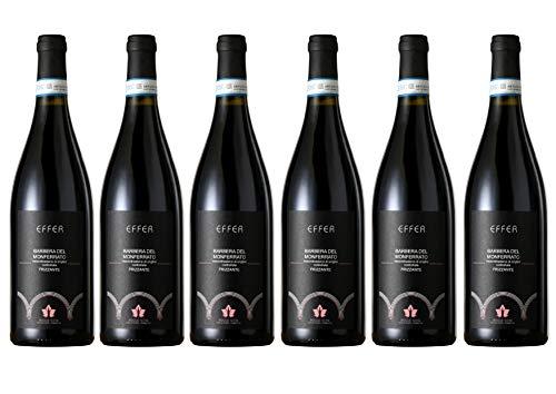 Boggero Bogge Wine - Barbera del Monferrato Frizzante Effer 6 bott. 0,75L