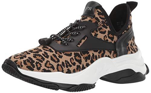 Steve Madden Women's Myles Sneaker, Leopard, 7.5 M US