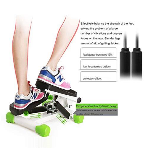 zvcv Steppers Stepper Aerobic Raiser Ropes LED 6