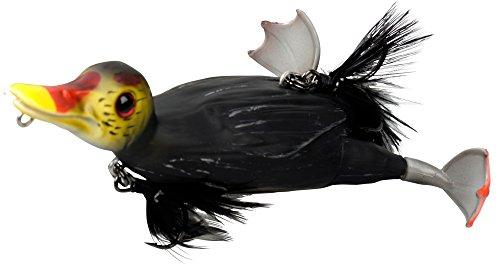 Savage Gear - Esca a forma di anatra 3D Suicide Duck Wobbler, esche per luccio, esche Wels, esche Waller, Coot