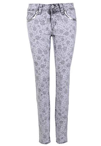 Blue Monkey Damen Jeans Laura 30156 Pailletten
