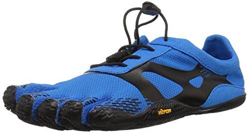 Vibram FiveFingers 16M0701 KSO Evo, Fitnessschuhe Herren, Blau (Blue/Black), 46 EU