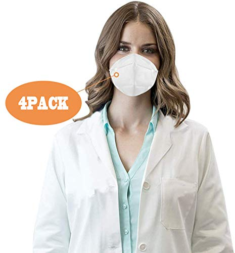 Anti Pollution N95 Mask,AUSDIN N95,FFP2 Anti Pollution Mask Dust-Proof and Anti Smoke Mask 98% filtration effect,Unisex,for Outdoor Construction,Paint, Gardening,DIY,Home 50 pack
