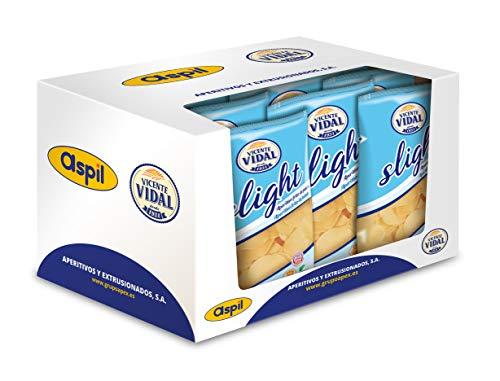 Patatas Fritas Vicente Vidal | Light 120g. caja 12u.