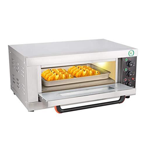 SCKMBJ Slice Tostapane a convezione Naturale, in Acciaio Inox, 3200W Cottura della Pizza Grande...