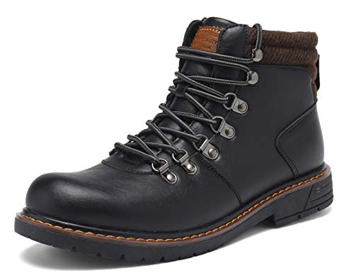 EYUSHIJIA - Botas de trekking para hombre, impermeables, para la nieve, trekking, senderismo, Hombre, negro-a, 42 UE